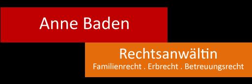 Rechtsanwaltskanzlei Anne Baden